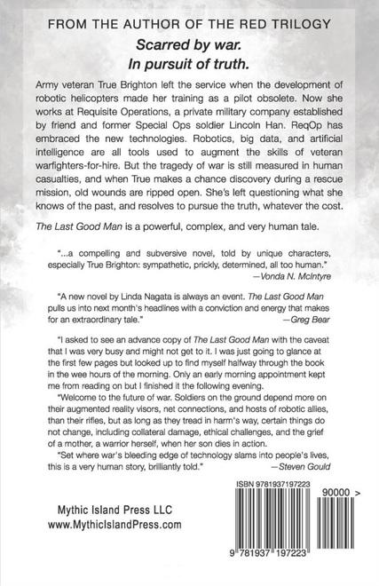 The Last Good Man Linda Nagata-back