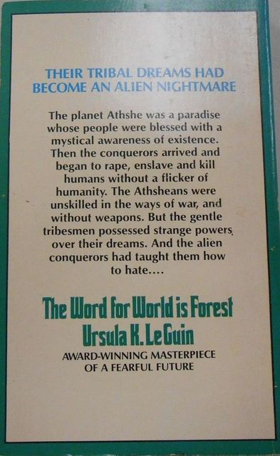 The Word for World Is Forest-back-small