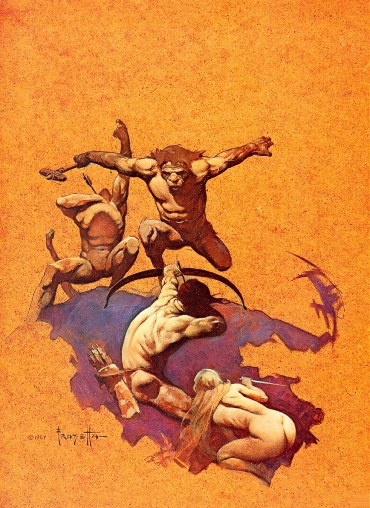 land-of-terror-frank-frazetta-2