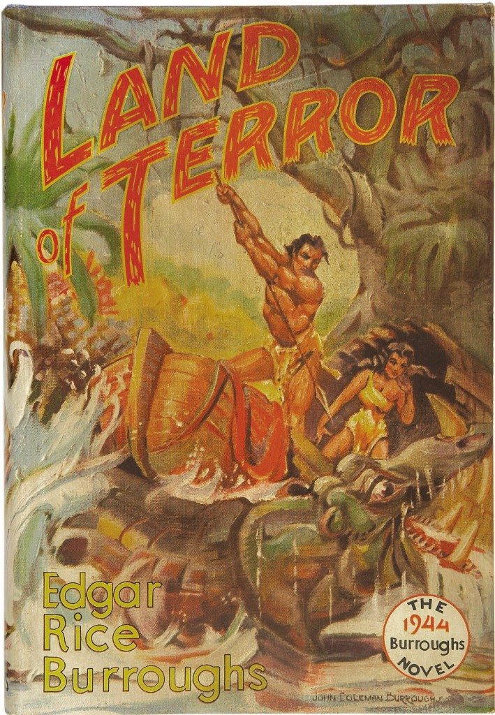 land-of-terror-john-coleman-burroughs-first-edition-cover