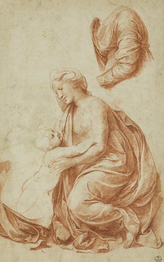 19. Madonna of Francis I (c) Gallerie degli Uffizi, Gabinetto dei Disegni e delle Stampe, Florence