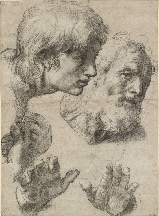 23. Two Apostles (c) Ashmolean Museum, University of Oxford