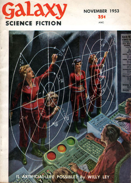 Galaxy Science Fiction November 1953