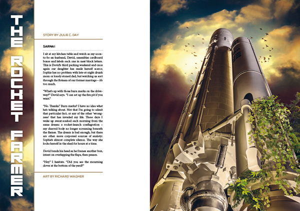 Interzone 271 The Rocket Farmer