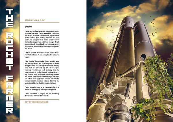 Interzone 271 The Rocket Farmer