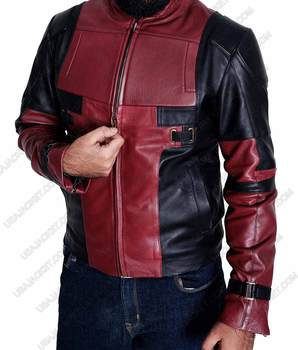 Ryan Reynolds Deadpool Leather Jacket-small