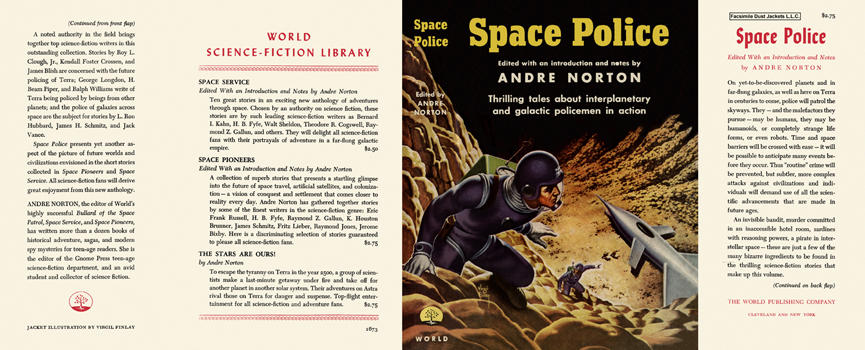 Space Police Andre Norton dust jacket 2