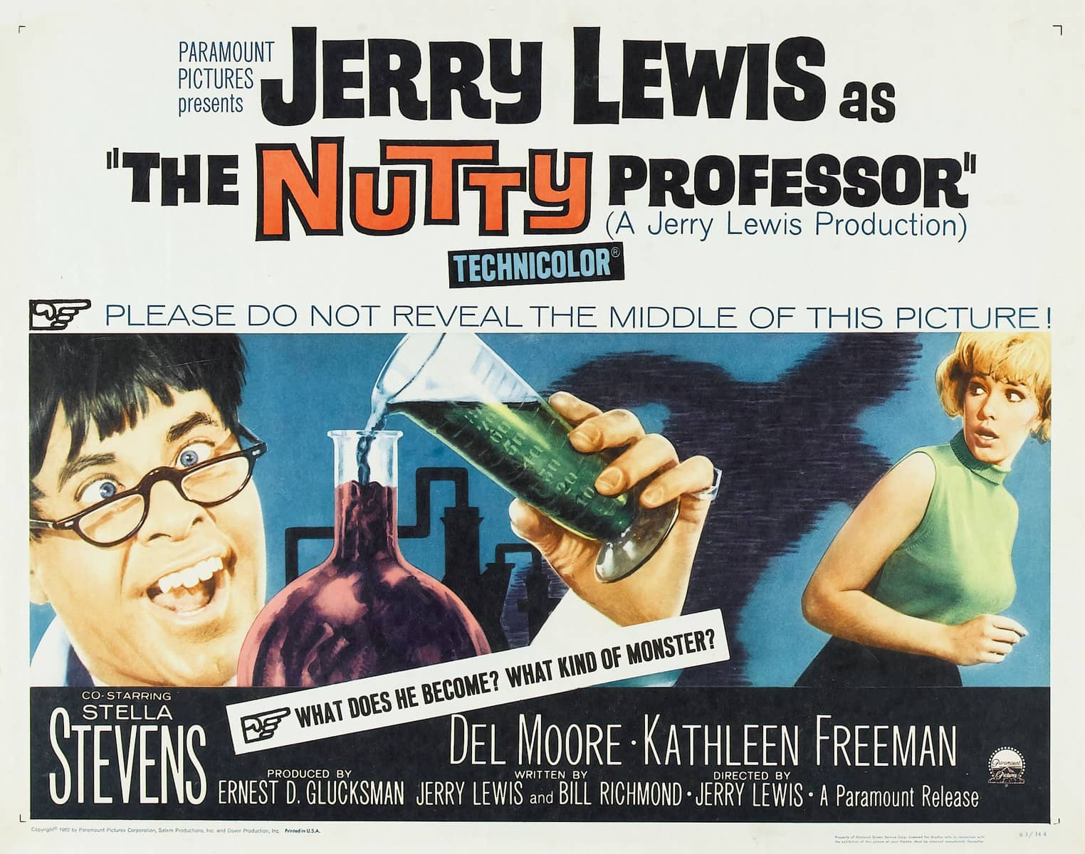 The Nutty Professor Movie Posters From Movie Poster Shop