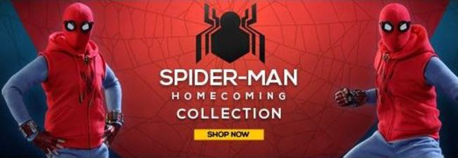 USAJacket Spider-Man Homecoming collection