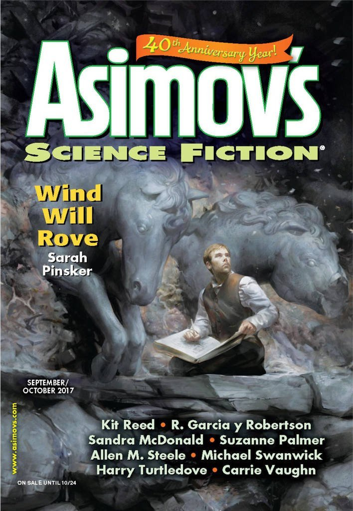 Black Gate  » Articles   » September/October 2017 Asimov's Science Fiction Now on Sale