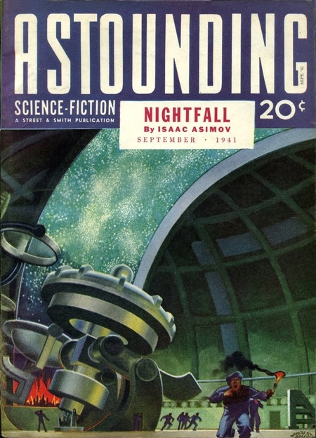 Astounding Science Fiction NIghtfall Isaac Asimov-small