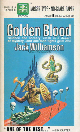 Jack Williamson Golden Blood-small