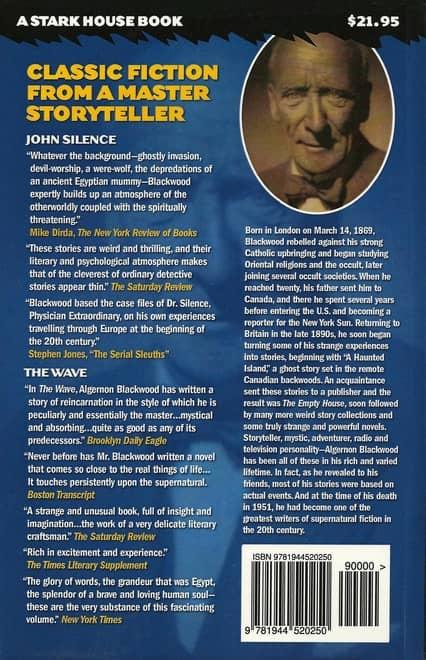 John Silence Physician Extraordinary - The Wave-back-small