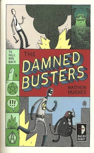 The Damned Busters Matthew Hughes-small