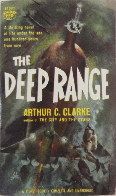 The Deep Range Arthur C Clarke Signet-small