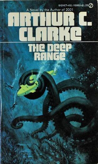 The Deep Range Arthur C Clarke-small