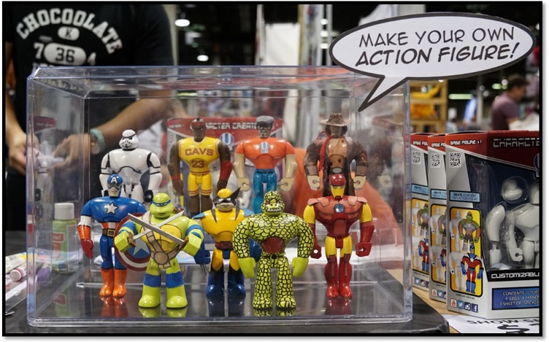 Wizard World Comic Con Chicago 2017 Make Your Own Action Figure-small