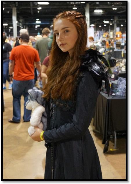 Wizard World Comic Con Chicago 2017 cosplay Arya