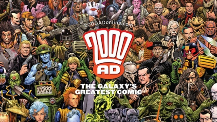 2000 AD The Galaxy's Greatest Comic