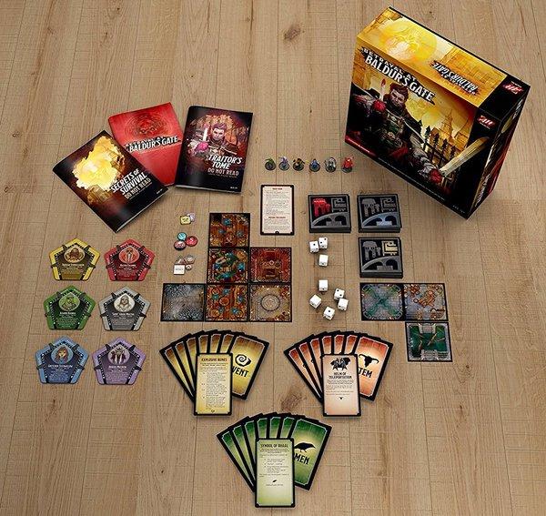 Betrayal at Baldur's Gate-contents-small