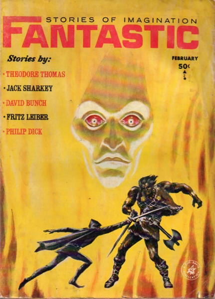 Fantastic Stories of Imagination February 1964-small