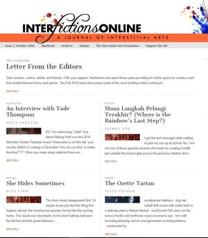 Interfictions Online Issue 7-small