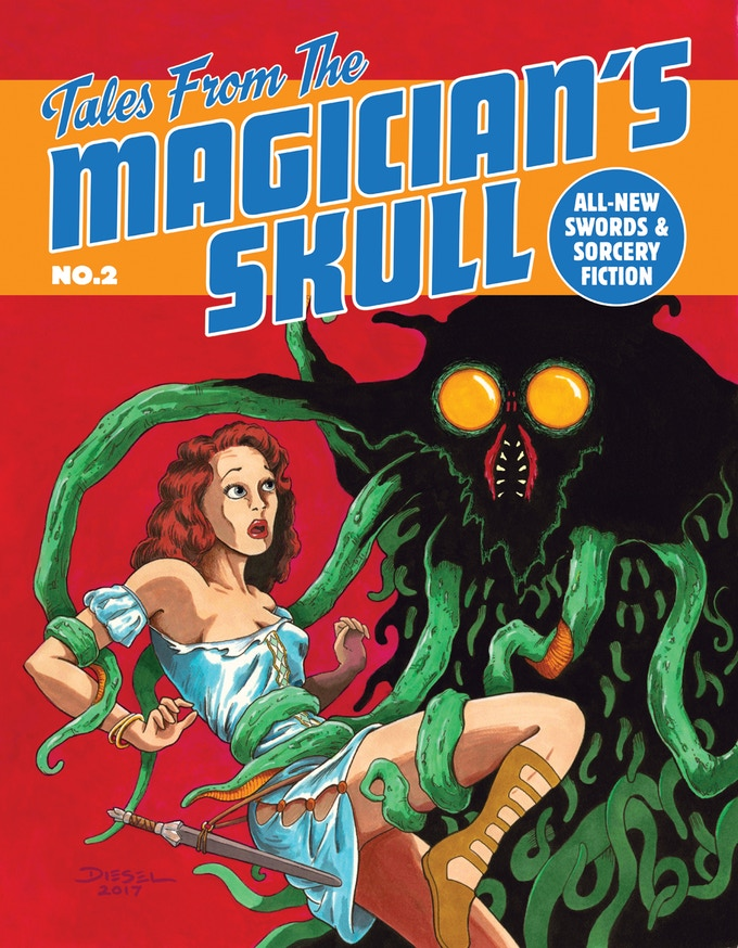 Tales From the Magician's Skull #2, by Diesel LaForce