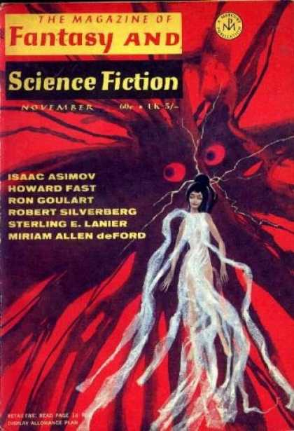 The Magazine of Fantasy and Science Fiction November 1969-small