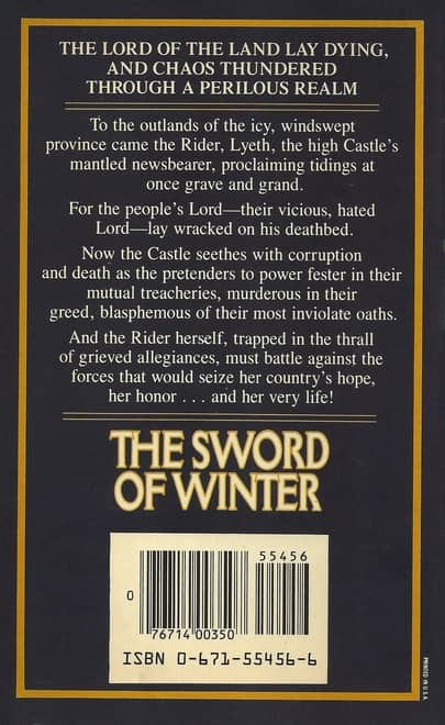 The Sword of Winter-back-small