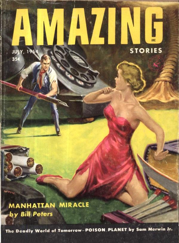 Amazing Stories July 1954