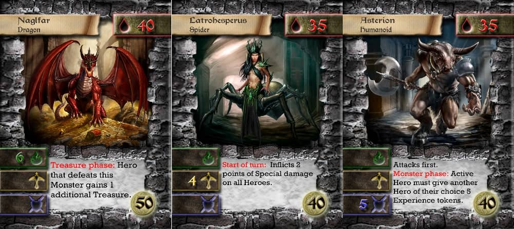 Dungeon Dwellers cards