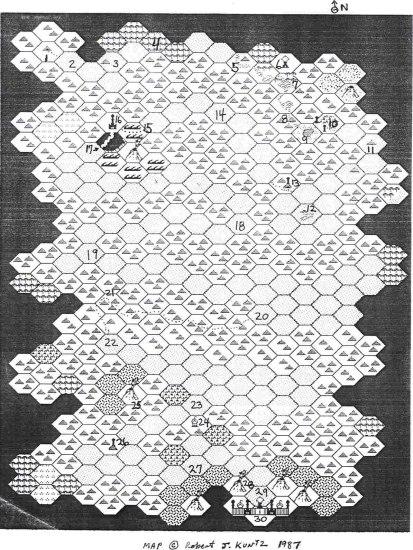Kuntz map The City of Brass