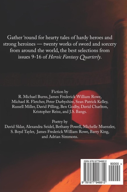 The Best of Heroic Fantasy Quarterly Volume 2-back-small