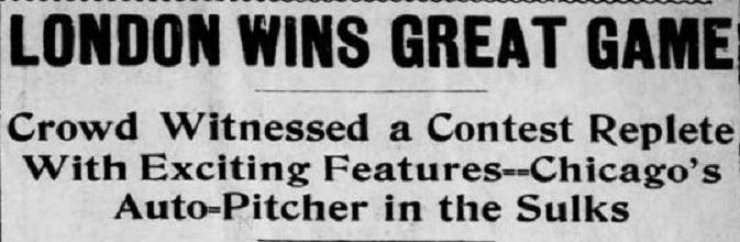 1905-01-01 Pittsburgh Press 24 Londo Win Great Game headline