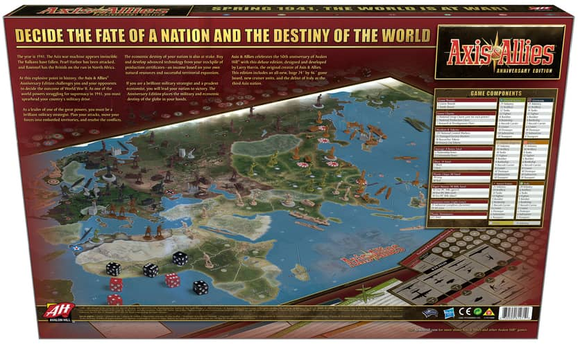 Axis and Allies Aniversary Edition-back-small