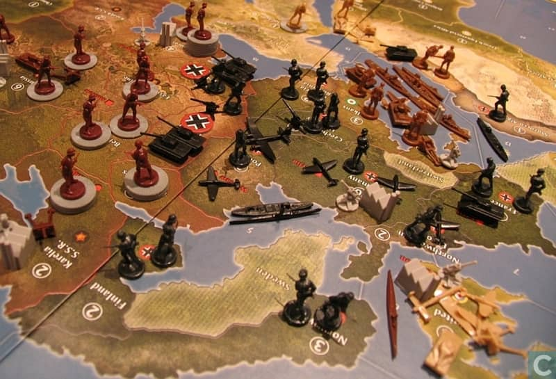 Axis and Allies Aniversary Edition-board