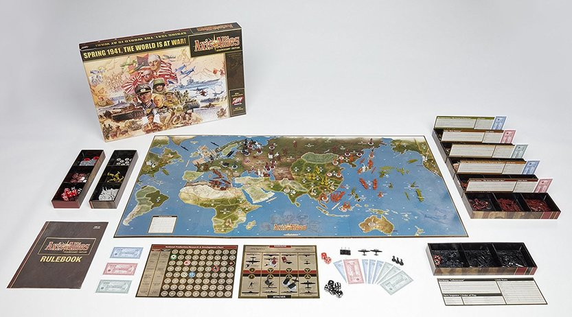 Axis and Allies Aniversary Edition stuff-small