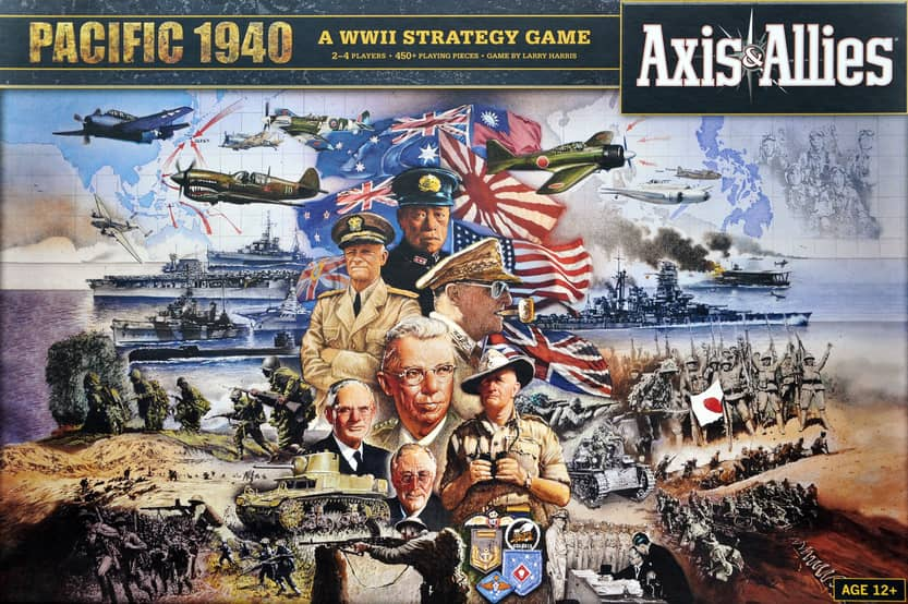 Axis and Allies Pacific 1940-small