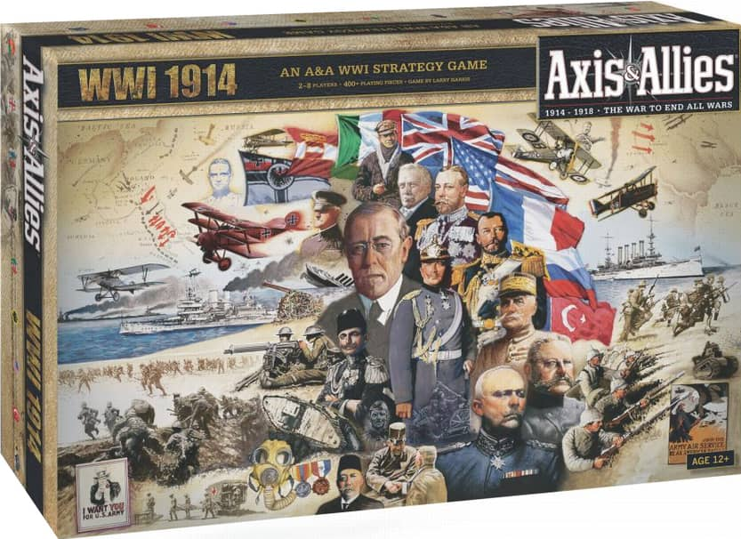 Axis and Allies WWI 1914-small