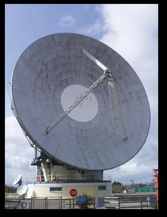 Big ole satellite dish