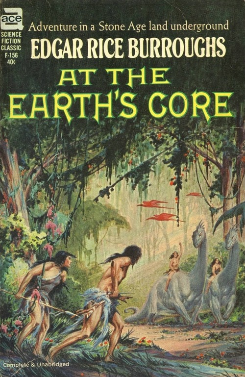 Burroughs At the Earth's Core-small