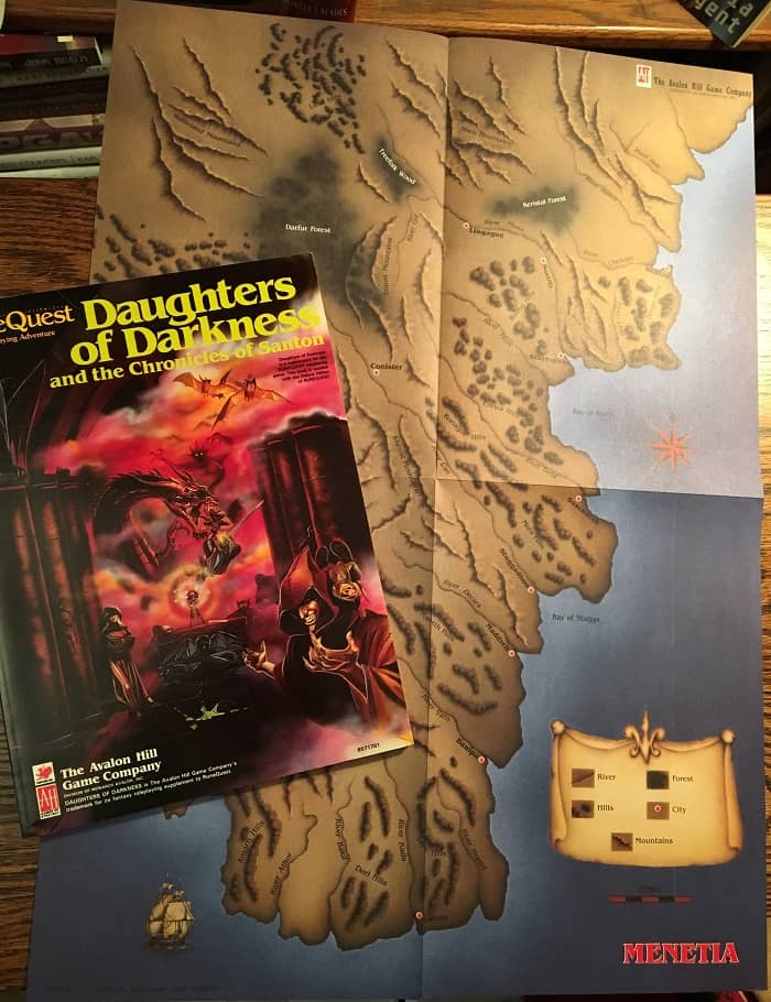 RuneQuest Daughters of Darkness contents-small