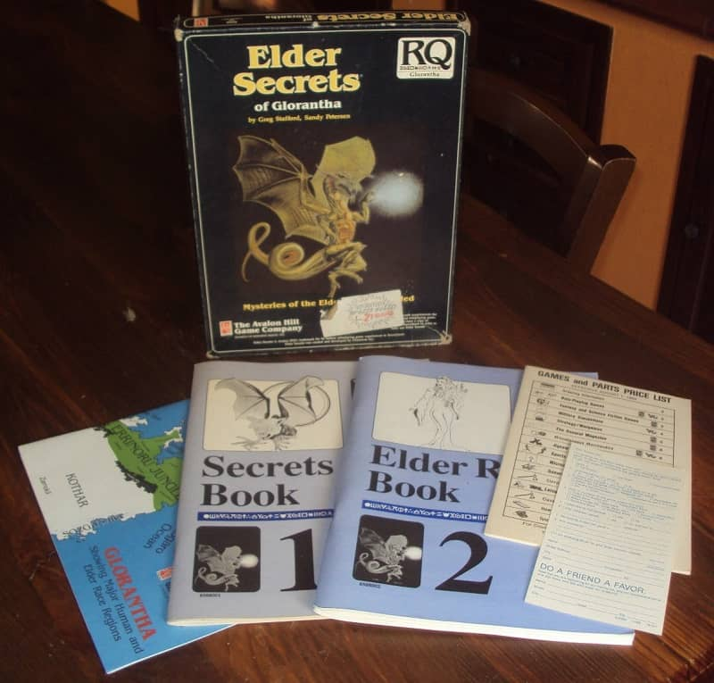 RuneQuest Elder Secrets of Glorantha-box-small
