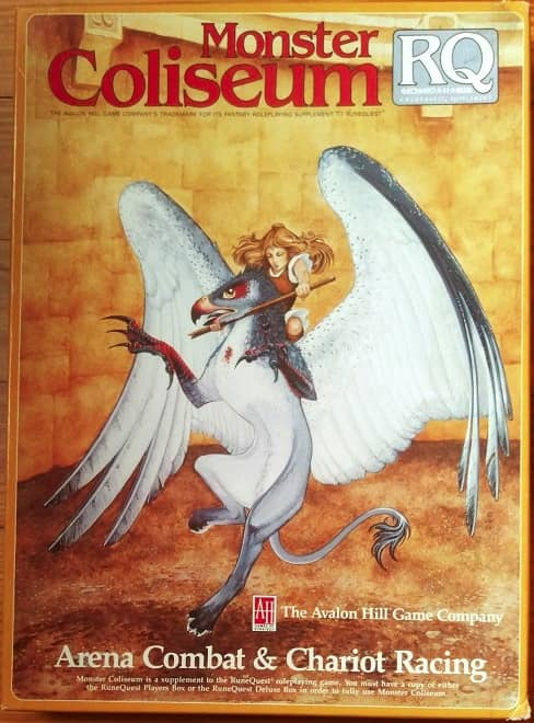 RuneQuest Monster Coliseum-small