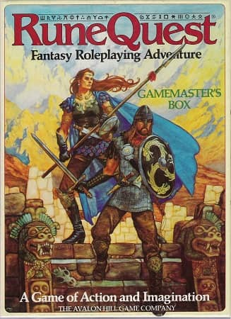 Runequest Third Edition Gamemaster's Box-small