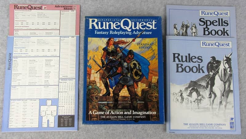 Runequest Third Edition Standard Edition box-small