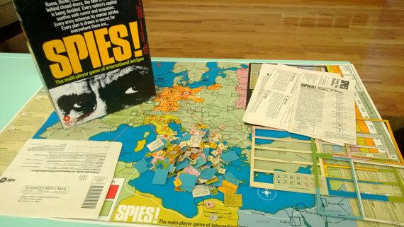 SPI Spies game
