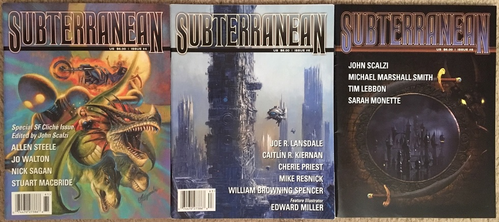 Subterranean Magazine back issues-small
