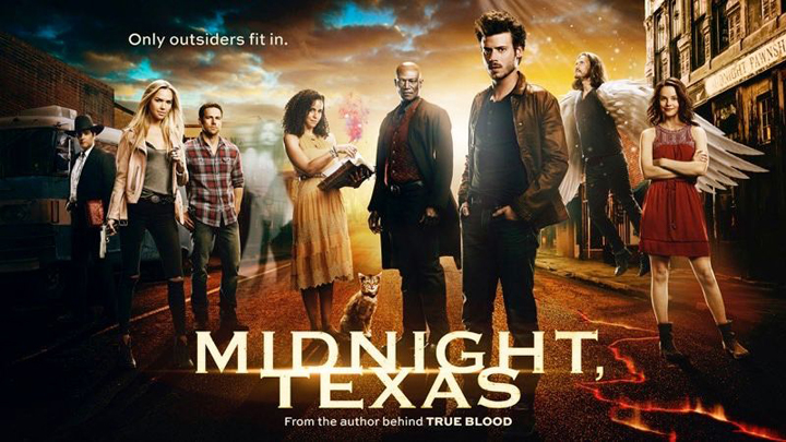Cast from Midnight, Texas, courtesy of NBC