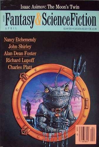 The Magazine of Fantasy & Science Fiction April 1989-small